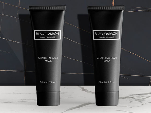 Blaq Carbon Activated Charcoal Mask: Bundle of 2