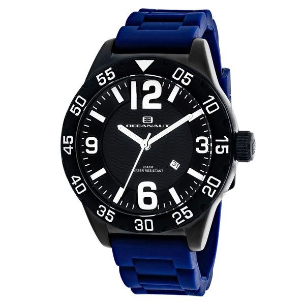 Oceanaut Men's Aqua One Black Dial Watch - OC2713