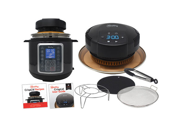 Mealthy CrispLid converts your Pressure Cooker into an Air Fryer