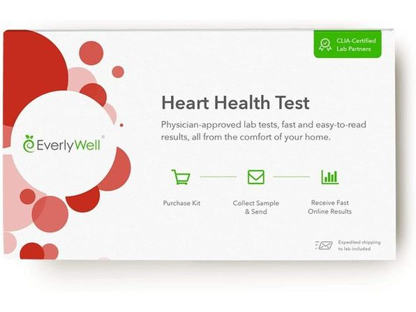 EverlyWell At Home Clinical Laboratory Improvement Amendments Certified Overall Heart Health Test