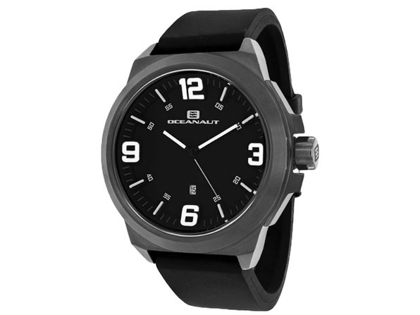 Oceanaut Men's Armada Black Dial Watch - OC7110