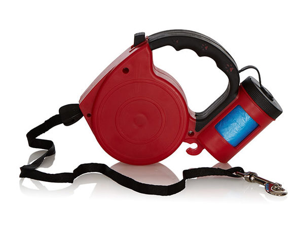 EZ-PET Retractable Leash with Bag Dispenser