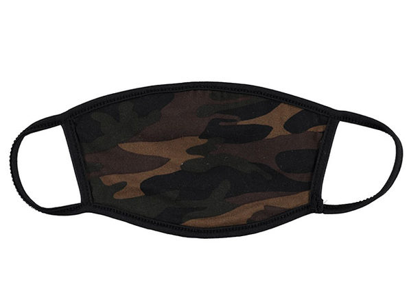 Non-Medical Fabric Face Masks (Camo Print/3-Pack)
