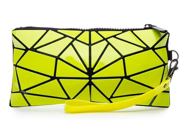 Geo Shaped Wristlet Wallet - Lime - Product Image