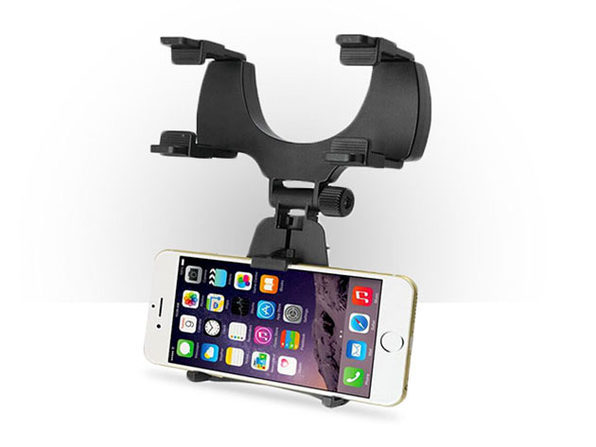 Rearview Eye Level In-Car Smartphone Mount