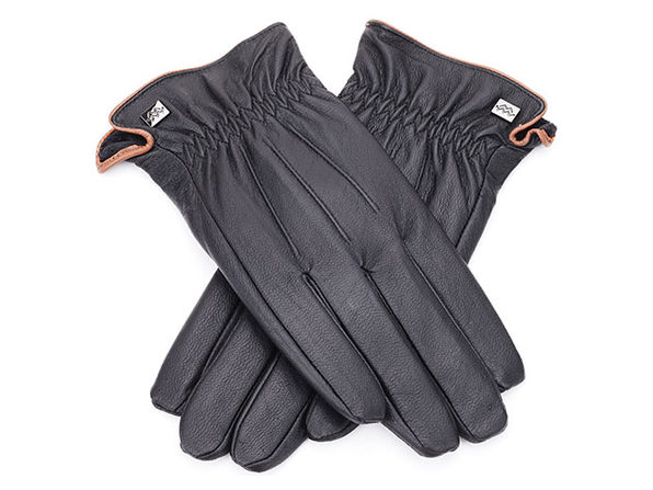 Cold-Weather Leather Gloves (Medium)