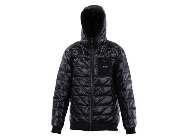 Reversible Heated Zip-Up Puffy Sweatshirt (XL)